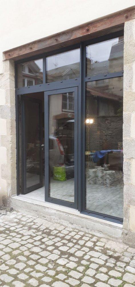 pose et installation de fenêtre pvc aluminium à limoges